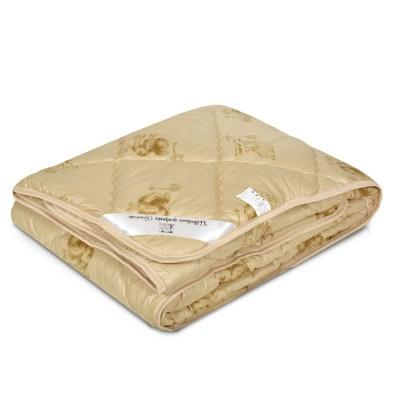 Одеяло верблюжья шерсть - 300 гм2 тик синтетический