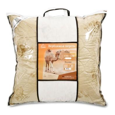 """Подушка """"Верблюжья шерсть"""" - тик синтетический"""